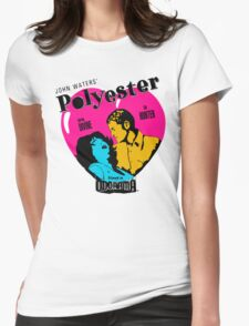 Polyester: Hello Francine! Womens Fitted T-Shirt