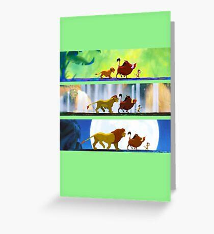 Lion King: Hakuna Matata Greeting Card