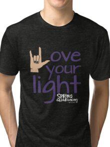 Love Your Light - DWSA Tri-blend T-Shirt