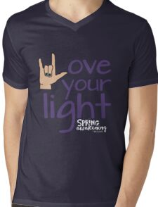 Love Your Light - DWSA Mens V-Neck T-Shirt