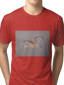 Lipizzaner Horse Tri-blend T-Shirt
