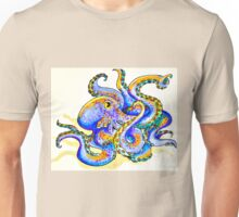 Purple Octopus Unisex T-Shirt