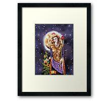 Mars Queen Framed Print