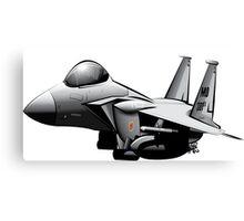 F-15 Cartoon Canvas Print