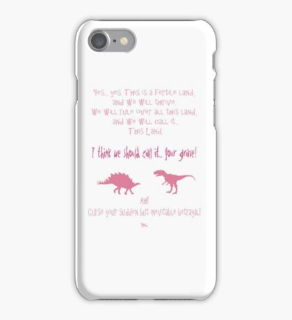 curse your sudden but inevitable betrayal, firefly, pink iPhone Case/Skin