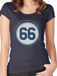 66 - Wild Horse (alt version) Women's Fitted Scoop T-Shirt