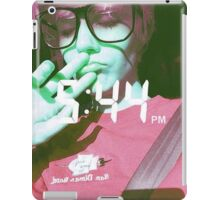 Time Is Just A Number With A Colon iPad Case/Skin