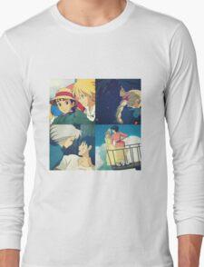 Sophie and Howl - Studio Ghibli Long Sleeve T-Shirt