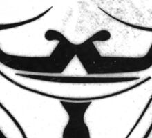 Guy Fawkes/Anonymous/V for Vendetta: DISOBEY Sticker