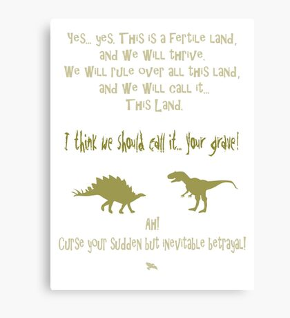 sudden but inevitable betrayal, firefly, olive green Canvas Print