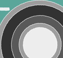 Turquoise Camera Sticker