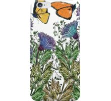 Butterflies for Protect Nature Campaign iPhone Case/Skin