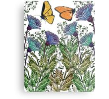 Butterflies for Protect Nature Campaign Metal Print