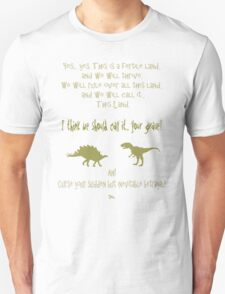 sudden but inevitable betrayal, firefly, olive green T-Shirt