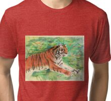 Tiger: Speed, Power, Beauty Tri-blend T-Shirt