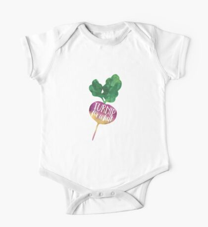 Turnip for What One Piece - Short Sleeve