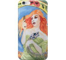 snake woman iPhone Case/Skin