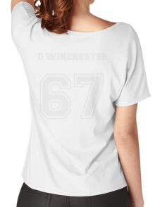 D.Winchester sports jersey  Women's Relaxed Fit T-Shirt