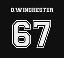 D.Winchester sports jersey  Men's Baseball ¾ T-Shirt