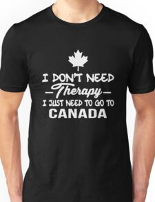 Canada Therapy Unisex T-Shirt