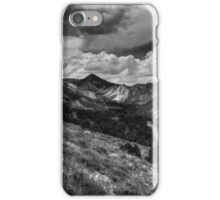 Utah - Flaming Gorge 002 BW iPhone Case/Skin