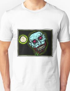 Zombie Snack Attack COLORIZED Unisex T-Shirt
