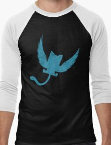 Blue Happy, Fairy Tail Anime Men's Baseball ¾ T-Shirt