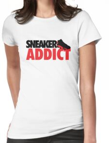 Sneaker Addict Womens Fitted T-Shirt