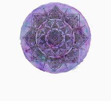 Marbled Purple Mandala Unisex T-Shirt