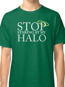 Stop staring at my halo! (FRISKY DINGO) Classic T-Shirt