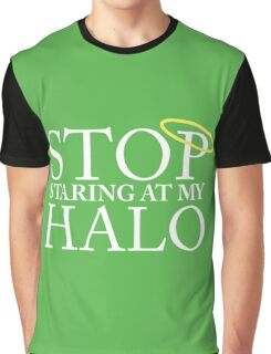 Stop staring at my halo! (FRISKY DINGO) Graphic T-Shirt