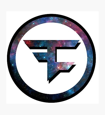 Faze Clan Galaxy Photographic Print