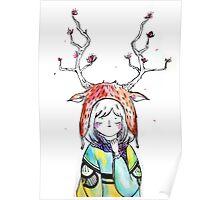 Deer Girl Poster