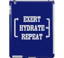 Workout Exercise Gym Weight iPad Case/Skin