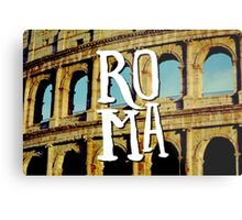 Roma Colosseum Italy Architecture Wanderlust Europe Metal Print