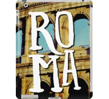 Roma Colosseum Italy Architecture Wanderlust Europe iPad Case/Skin