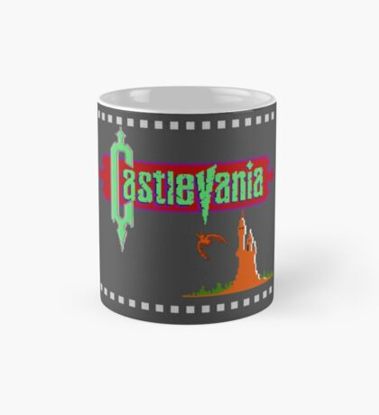 Castlevania Title Screen Mug