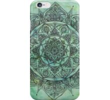 Marbled Green Mandala iPhone Case/Skin