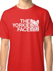YORKIE FACE Classic T-Shirt