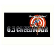 6.5 Creedmoor | Forum Logo Art Print