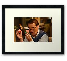 hal malcolm in the middle Framed Print