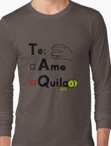 tequila with salt and lime T-Shirt