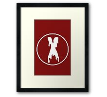 X-files Scully Mulder Alien Xfiles Framed Print