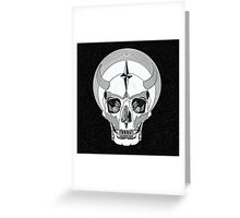 SKULL SHIRT OF SATURNALIA Greeting Card