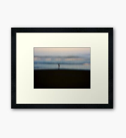 Where to from here? Framed Print