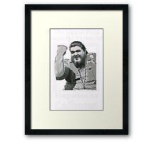 Haystacks Calhoun Classic Wrestling Framed Print