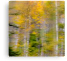 Vibrant Trees 1 - Abstract Canvas Print