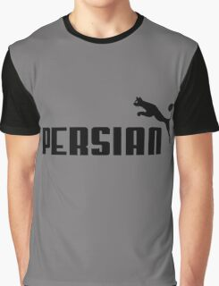 Persian - Black #1 Graphic T-Shirt
