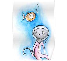 Stu Cat Poster