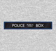 Police Box Baby Tee